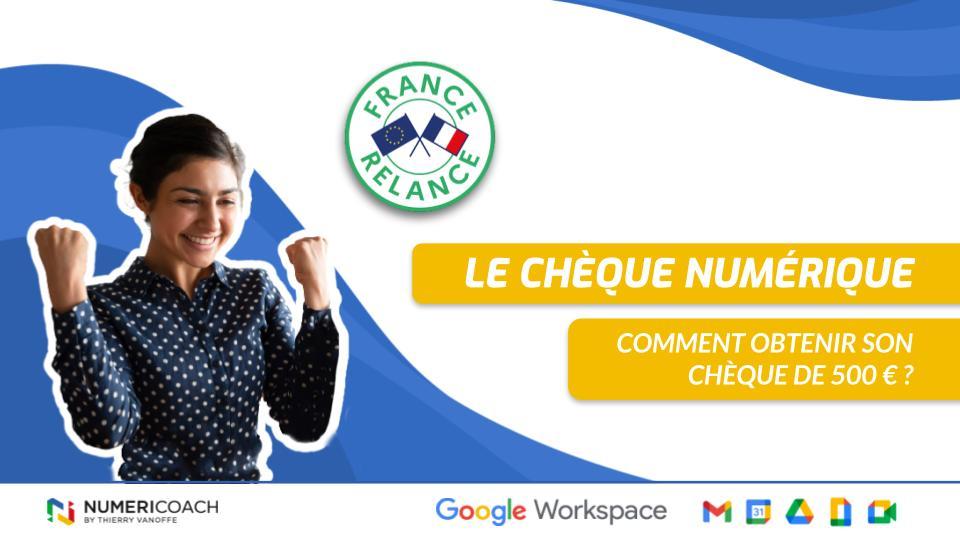 Le chèque numérique France relance